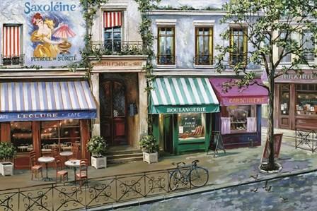 Rue Des Maisons by Mark St. John art print