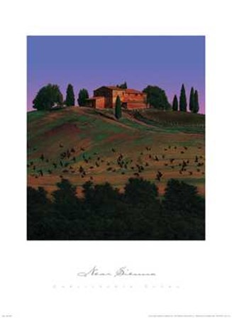 Near Sienna by Ned Young art print