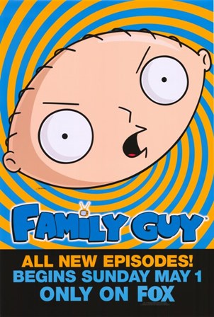 Family Guy Stewie art print