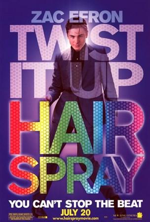 Hairspray - Zac Efron art print