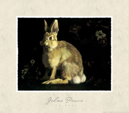 The Hare by Galina Perova art print
