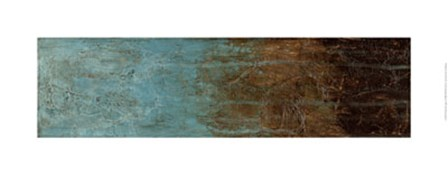 Oxidized Copper I by Jennifer Goldberger art print