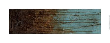Oxidized Copper II by Jennifer Goldberger art print