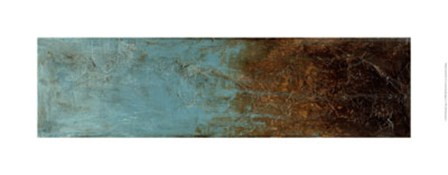 Oxidized Copper III by Jennifer Goldberger art print