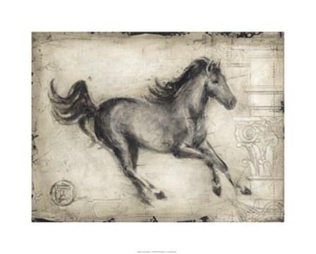 Roman Horse I by Ethan Harper art print