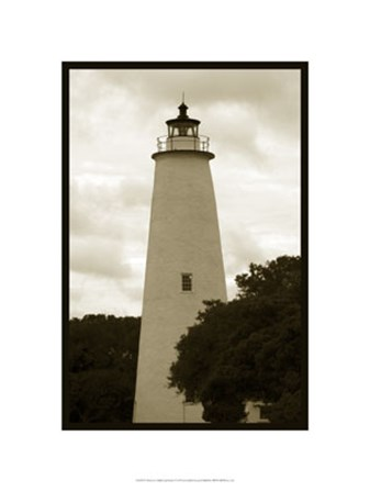 Ocracoke Island Lighthouse by Jason Johnson art print