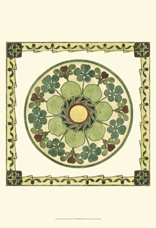 Arts & Crafts Plate II by Vision Studio art print