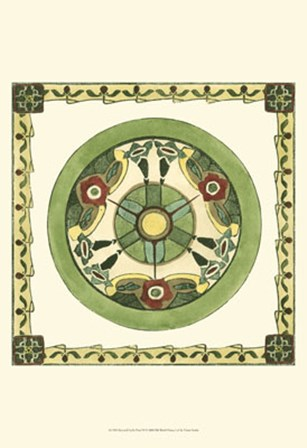 Arts & Crafts Plate VI by Vision Studio art print