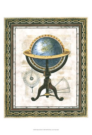 Traditional Globe I by Vision Studio art print