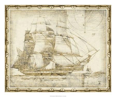Ghost Ship I by Vision Studio art print