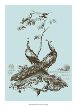 Avian Toile II by Vision Studio art print