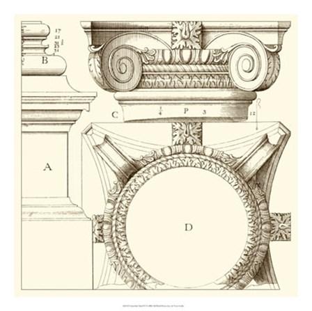 Corinthian Detail IV by Vision Studio art print