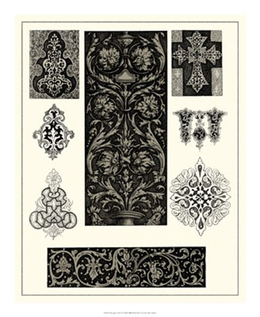 Baroque Details I by Vision Studio art print