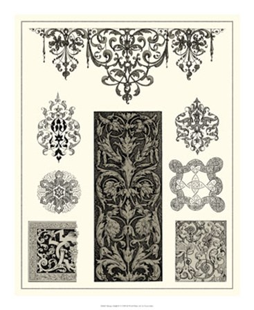 Baroque Details III by Vision Studio art print