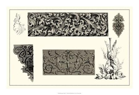 Baroque Details V by Vision Studio art print
