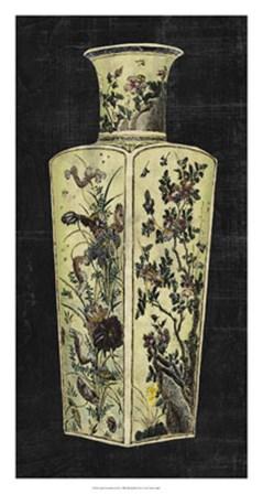 Aged Porcelain Vase II by Vision Studio art print