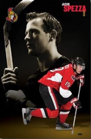 Ottawa Senators - Jason Spezza - 08 art print