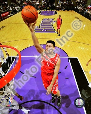 Yao Ming 2008-09 Action art print