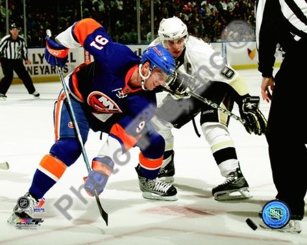 John Tavares & Sidney Crosby 2009-10 Action art print
