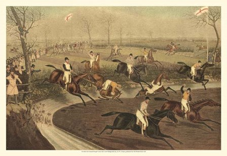 The Grand Steeple Chase III by Francis Calcraft Turner art print