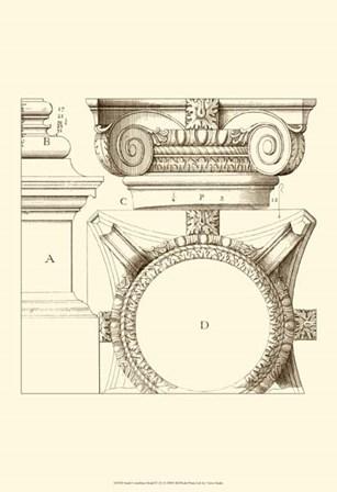 Small Corinthian Detail IV (U) by Vision Studio art print