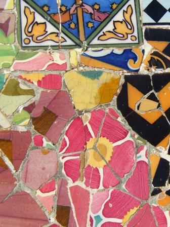 Mosaic Fragments III by Vision Studio art print