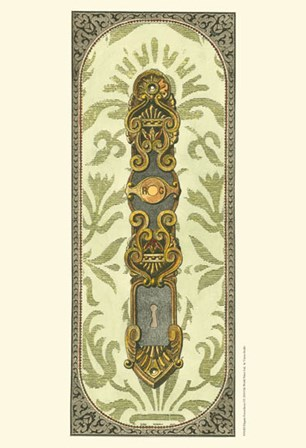 Elegant Escutcheon I by Vision Studio art print