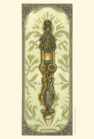 Elegant Escutcheon II by Vision Studio art print