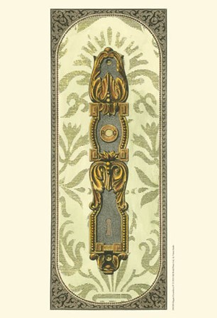 Elegant Escutcheon IV by Vision Studio art print