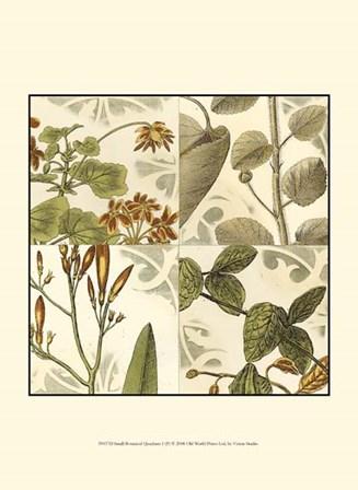 Small Botanical Quadrant I (P) by Vision Studio art print