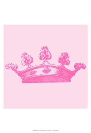 Princess Crown II by Vision Studio art print
