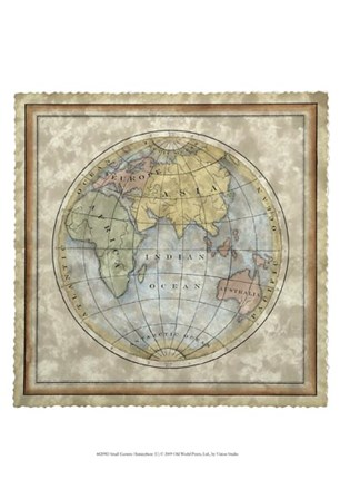 Small Eastern Hemisphere by Vision Studio art print
