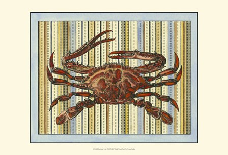 Seashore Crab by Vision Studio art print