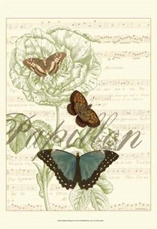Papillon Melange II by Vision Studio art print