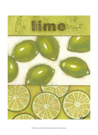 Lime by Norman Wyatt Jr. art print