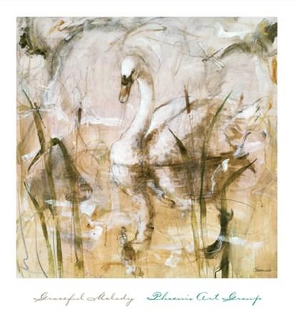 Graceful Melody by Francois Fressinier art print