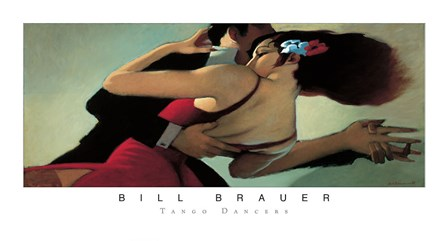 Tango Dancers by Bill Brauer art print