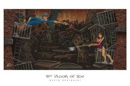 15th Floor of Joy by David Garibaldi art print