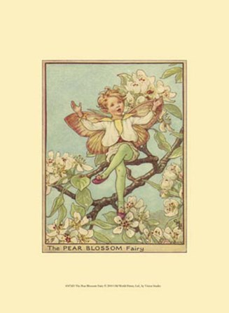 The Pear Blossom Fairy by Vision Studio art print