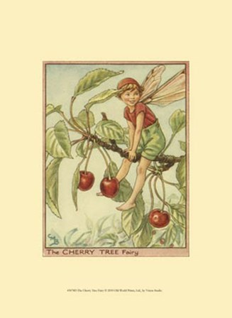 The Cherry Tree Fairy by Vision Studio art print