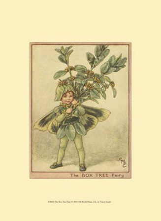 The Box Tree Fairy by Vision Studio art print