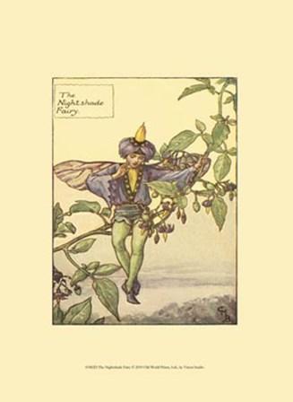 The Nightshade Fairy by Vision Studio art print