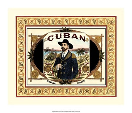 Cuban Cigars by Vision Studio art print