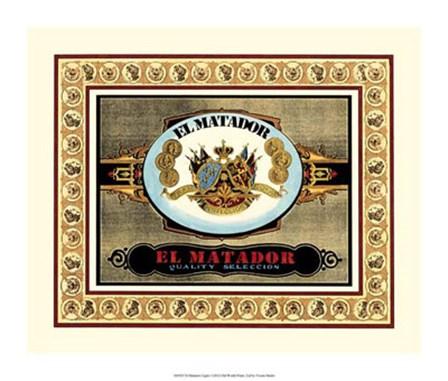 El Matador Cigars by Vision Studio art print