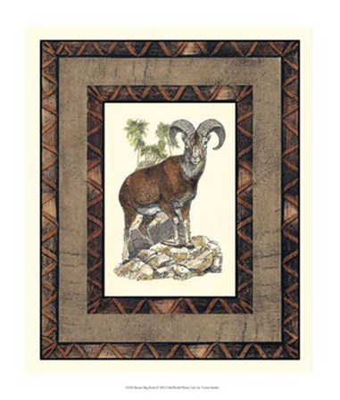 Rustic Big Horn by Vision Studio art print