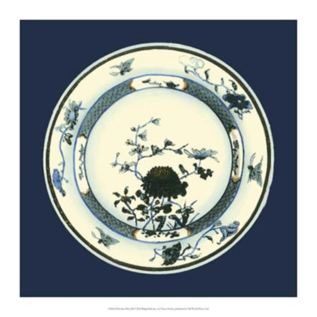 Porcelain Plate III by Vision Studio art print