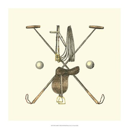 Polo Saddle by Vision Studio art print
