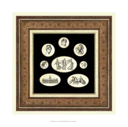 Classic Cameos I by Vision Studio art print