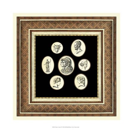 Classic Cameos II by Vision Studio art print