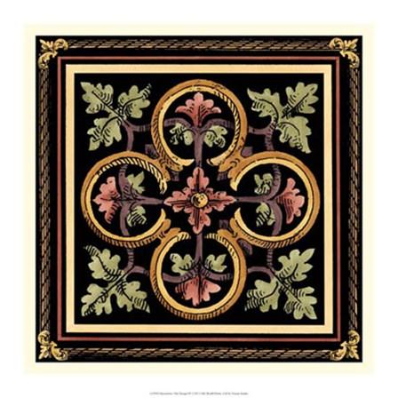 Decorative Tile Design IV by Vision Studio art print